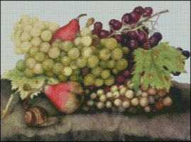 Snail with Grapes and Pears